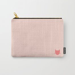 Pippin Pink -- Cat Colors Carry-All Pouch