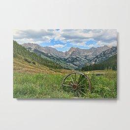 Colorado Rockies Secluded Lake Metal Print