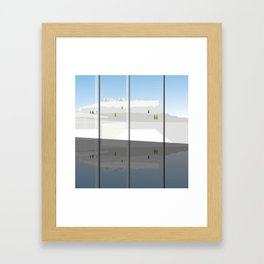 A Day at the Acropolis Museum of Athens Greece Framed Art Print