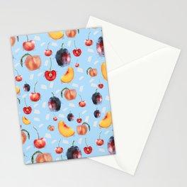 Stone Fruit Stationery Cards