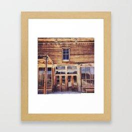 Bodie Ghost Town Framed Art Print