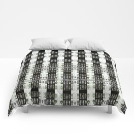 Enlighted Optical Illusions Comforters