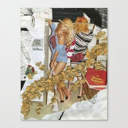 Fashion Whore  Canvas Print