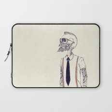 The Gentleman becomes a Hipster  Laptop Sleeve