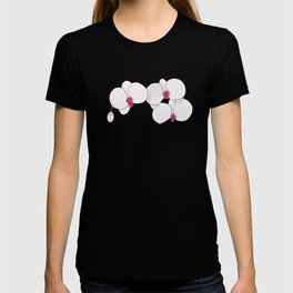 Trois Orchids and a Bud T-shirt
