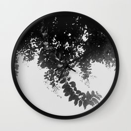 Leaf Curl Wall Clock