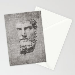 ANCIENT / Head of Lucius Verus Stationery Cards
