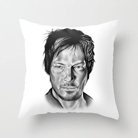 Daryl Dixon Throw Pillow