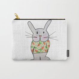 Winston the Bunny Rabbit Carry-All Pouch