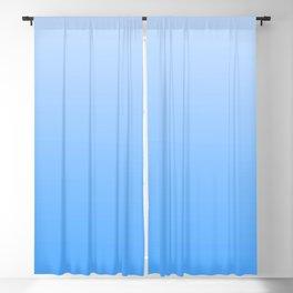 Blauer Ombré - Blue Gradient Blackout Curtain