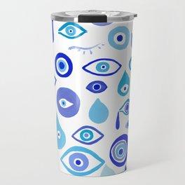 Evil Eyes Travel Mug