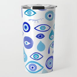 Evil Eyes Travel Mug