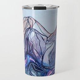 abstract landforms Travel Mug