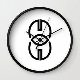 8 Media Watch Wall Clock