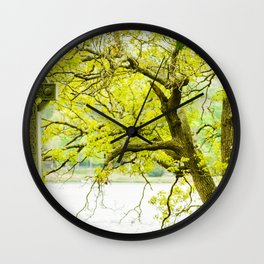 Celtic Grave Wall Clock