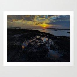 kettle cove sunset 2 Art Print
