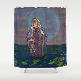 The Loneliness of Echo Shower Curtain