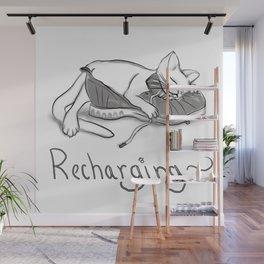 Recharging Wall Mural