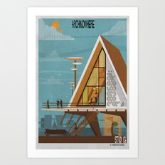 ARCHINOWHERE 06_study Art Print