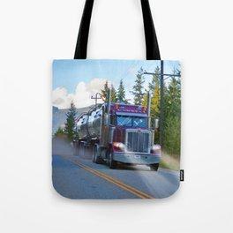 Trans Canada Trucker Tote Bag