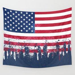 Merican Flag OG Wall Tapestry