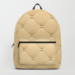 Gold luxury upholstery pattern Backpack