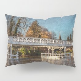 The Toll Bridge At Whitchurch-on-Thames Pillow Sham