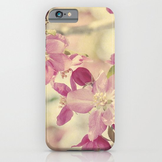 Pink Crabapple Blossom iPhone & iPod Case