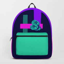 Neon Roses Backpack