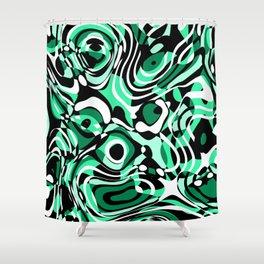 ill-defined 4b Shower Curtain