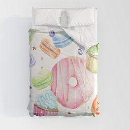 Sweets Pattern Comforters