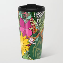 Tropics and Plants Travel Mug