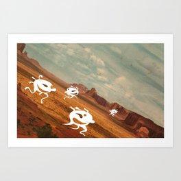 invation Art Print
