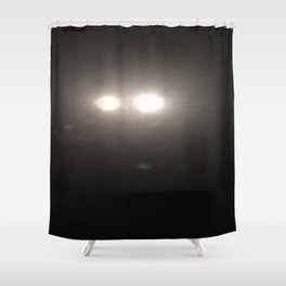 DeerInHeadLights Shower Curtain
