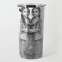 Sisters Twins Travel Mug