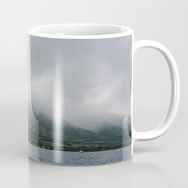 Foggy Maui View Coffee Mug