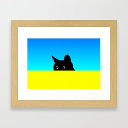 Kitty 2 Framed Art Print