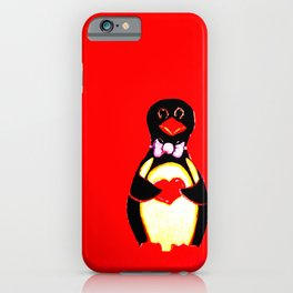 Judy the Penguin iPhone Case