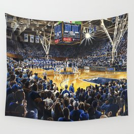 Tip-off, UNC at Duke Wall Tapestry