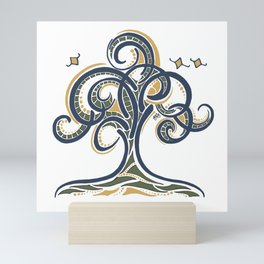 Geometric Tree Mini Art Print