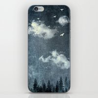 cloud iPhone & iPod Skins featuring The cloud stealers by HappyMelvin