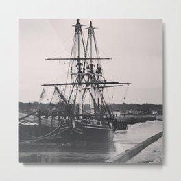 Soul Sailing Metal Print