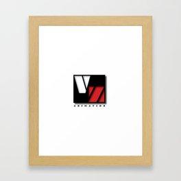 VZ ANIMATION Framed Art Print