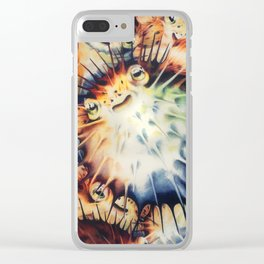 Piles of Pufferfish Clear iPhone Case