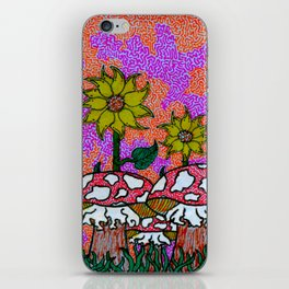 Sunset Psychedelia iPhone Skin