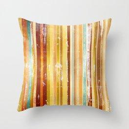 Vintage Stripe 2 Throw Pillow