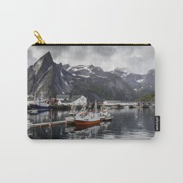Lofoten Islands, Norway Mountain Landscape Carry-All Pouch