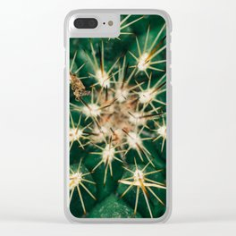 Fractal Cactus Clear iPhone Case