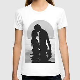 Lovers Black and White T-shirt