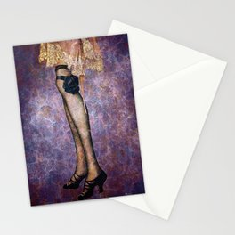 ALL DRESSED UP FOR THE PARTY Stationery Cards